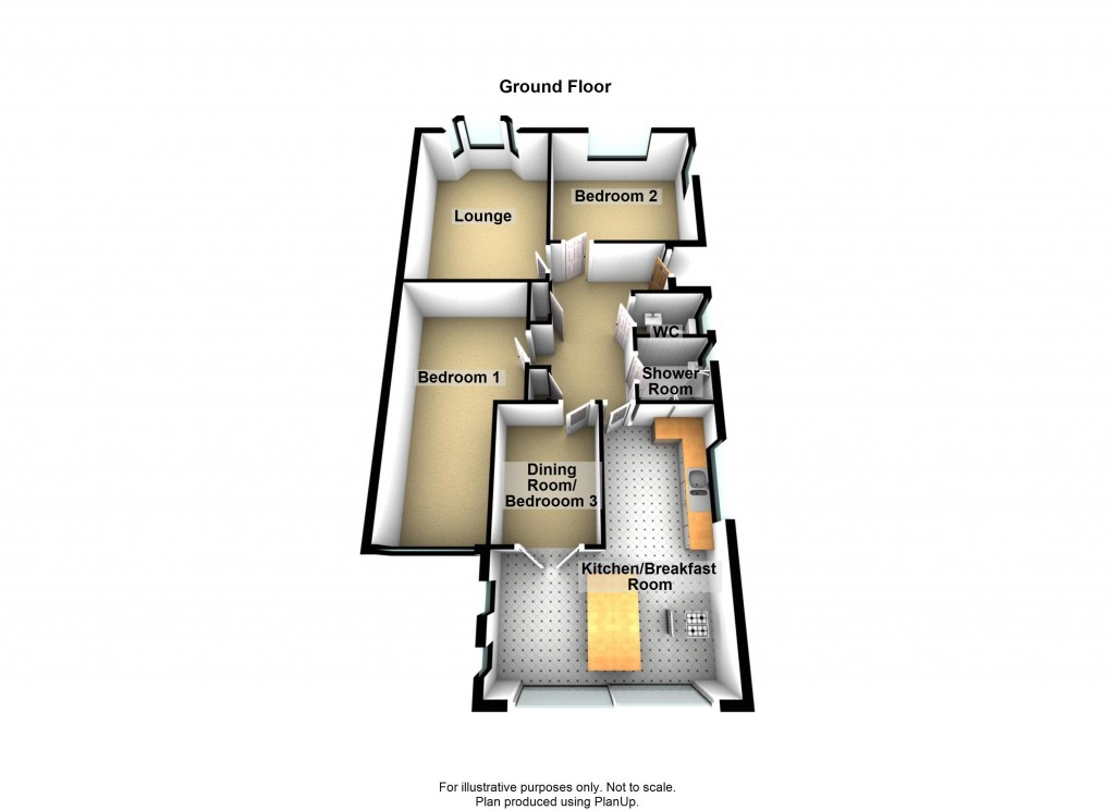 Floorplans For Holmbush Way, Southwick