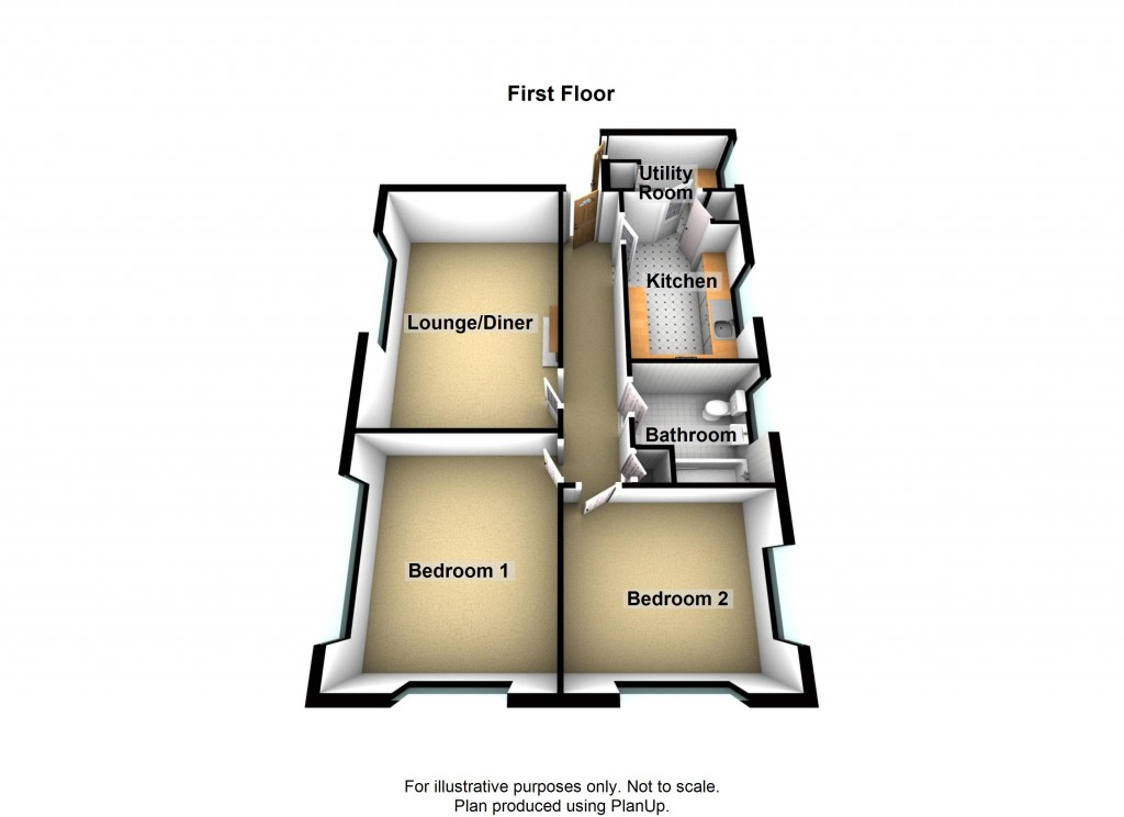 Floorplans For Meadway Court, Southwick