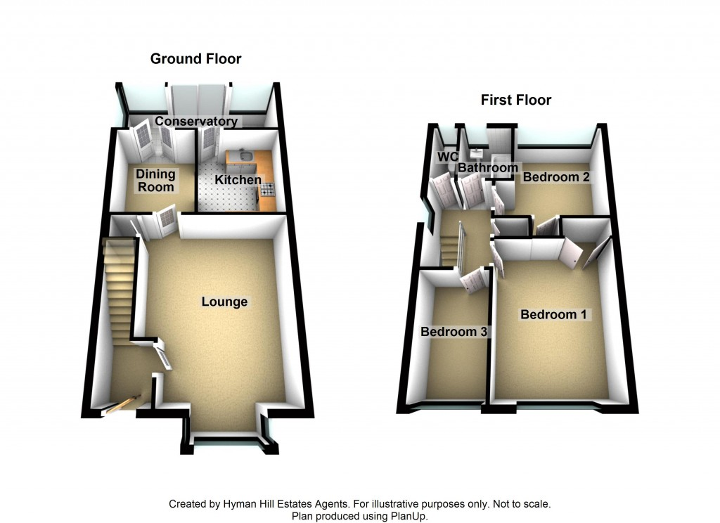 Floorplans For Greenacres, Shoreham-by-Sea