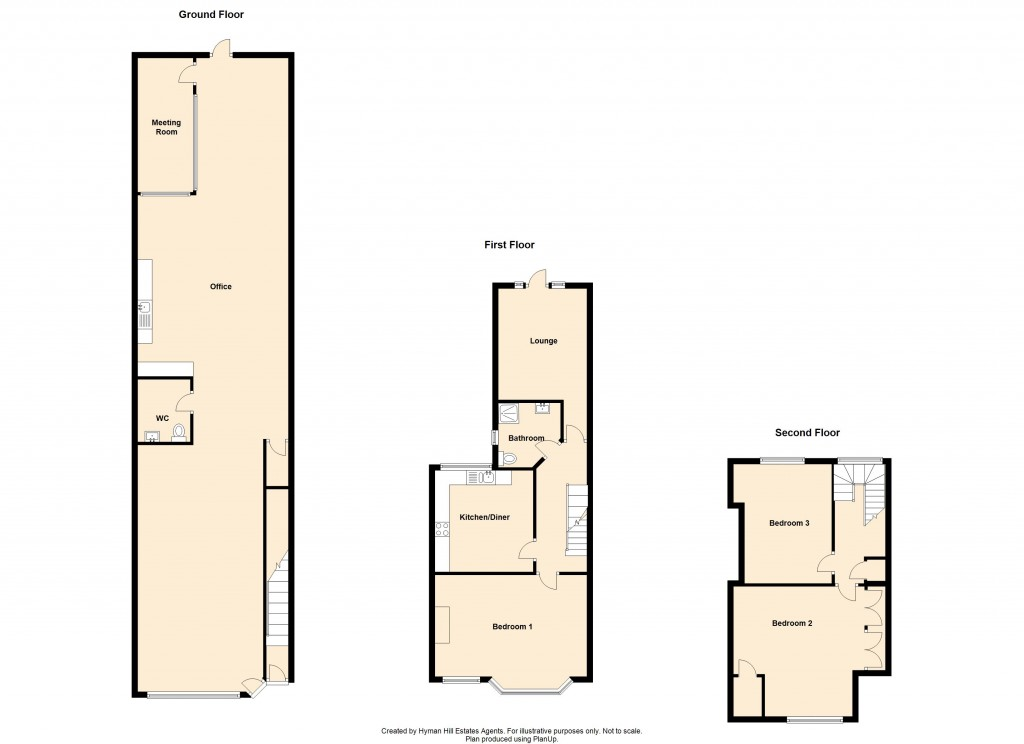 Floorplans For Boundary Road, Hove