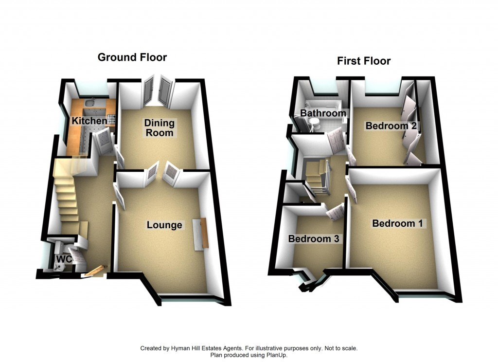 Floorplans For Mile Oak Gardens, Portslade