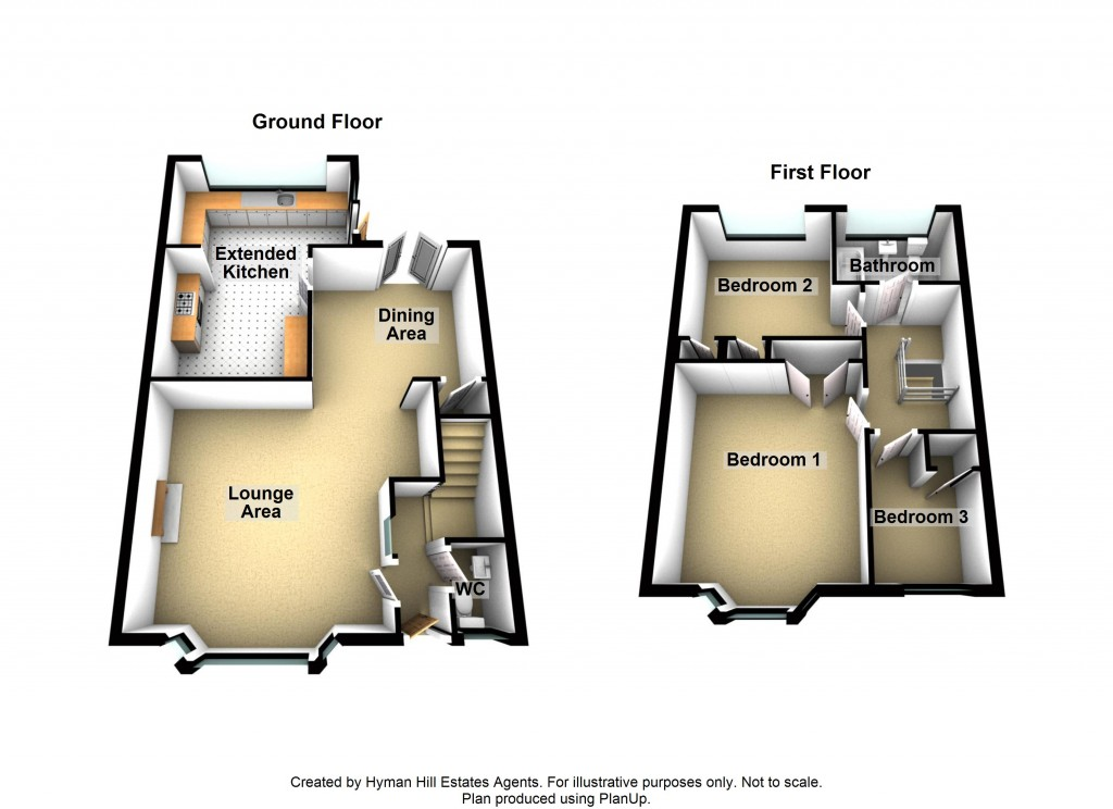 Floorplans For St. Julians Lane, Shoreham-by-Sea