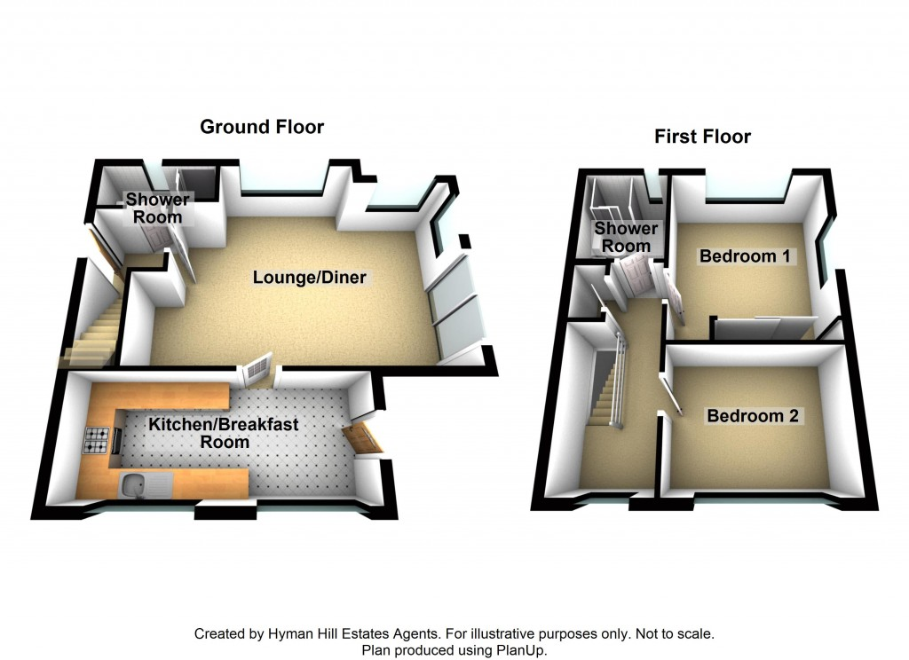 Floorplans For Buckingham Mews, Shoreham-by-Sea