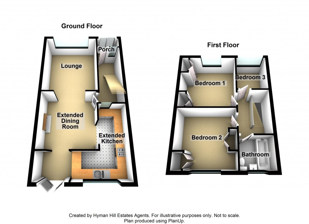 Floorplans For The Gardens, Southwick
