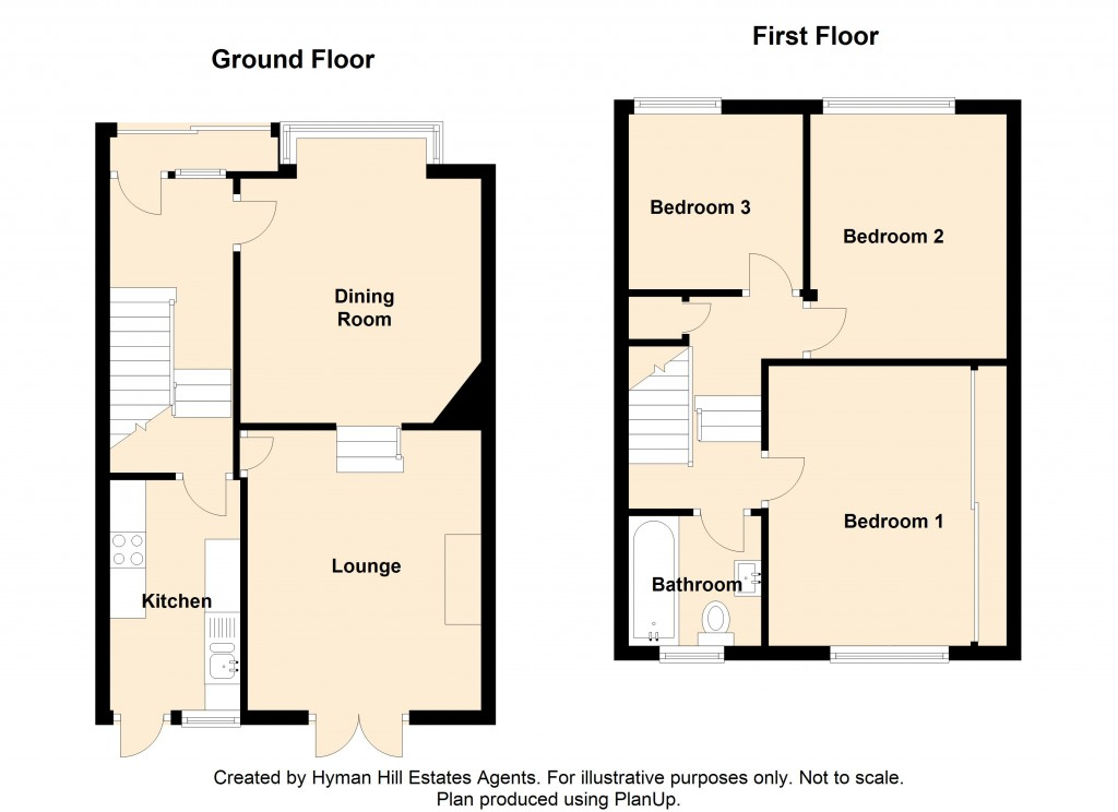 Floorplans For Old Shoreham Road, Southwick
