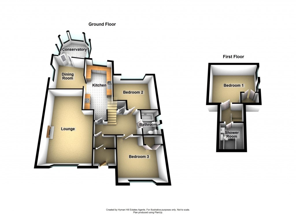 Floorplans For Mill Hill Close, Shoreham-by-Sea