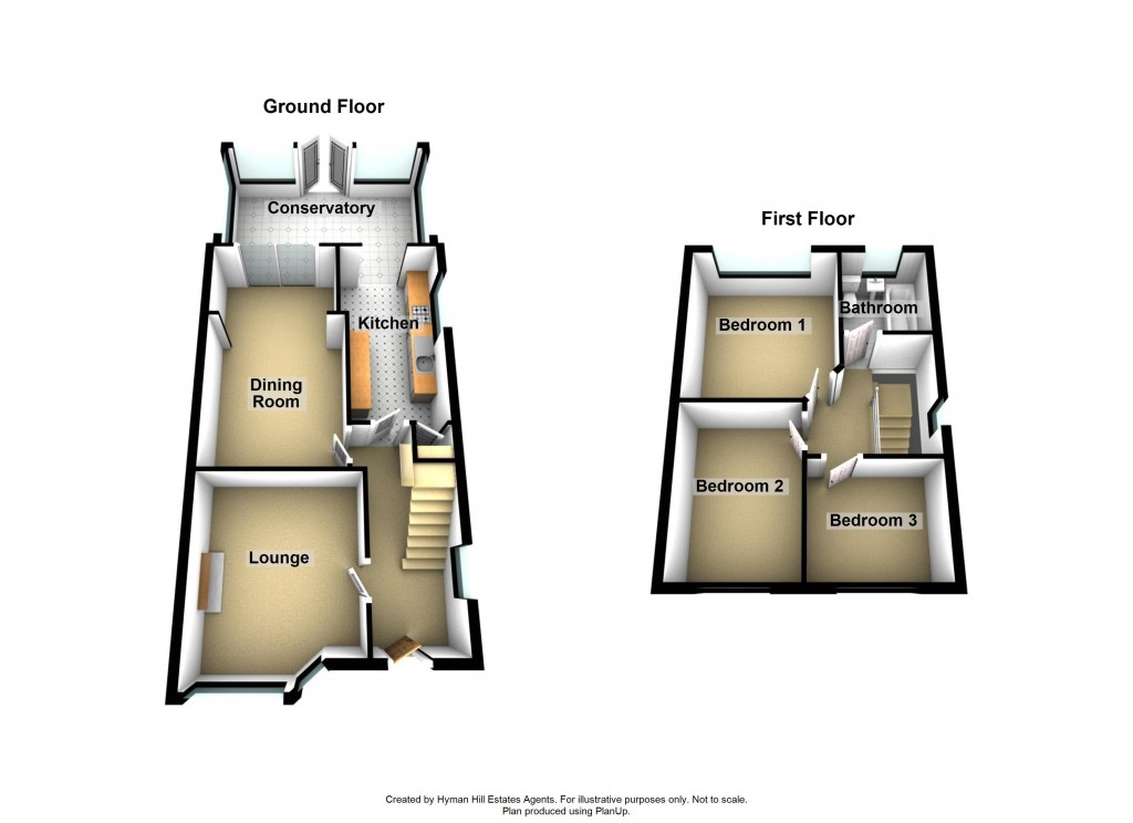 Floorplans For Greenways Crescent, Shoreham-by-Sea