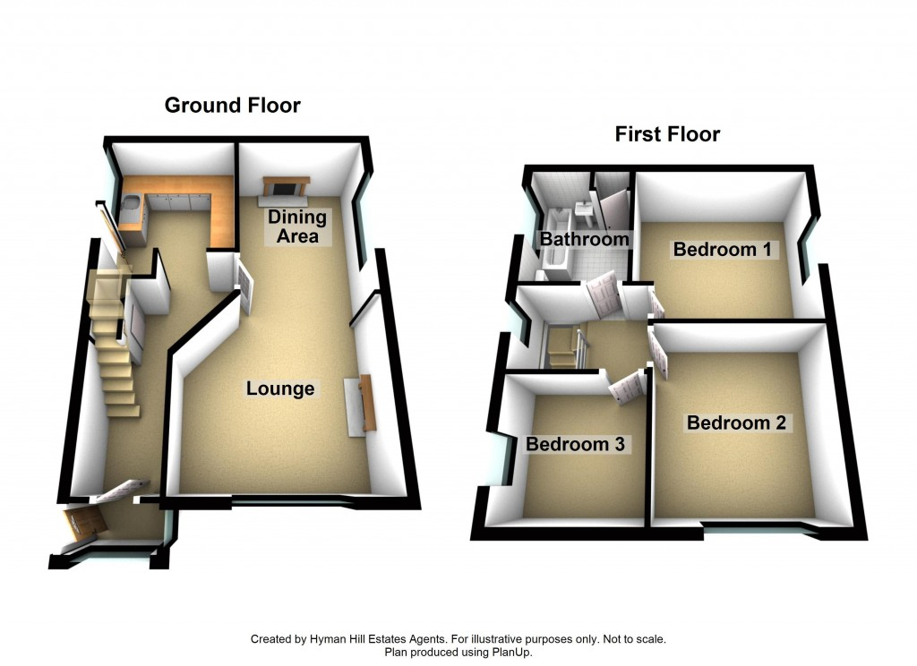 Floorplans For Middle Road, Shoreham-by-Sea