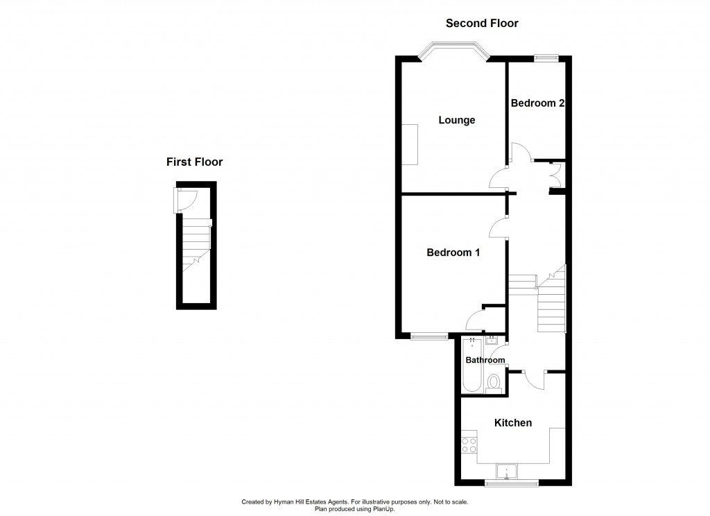 Floorplans For York Road, Hove