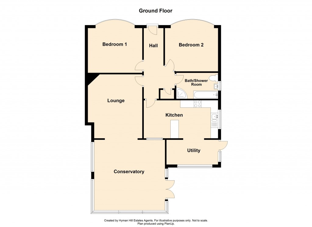 Floorplans For The Crescent, Southwick
