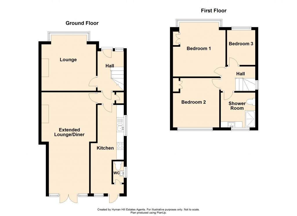 Floorplans For Phoenix Way, Southwick