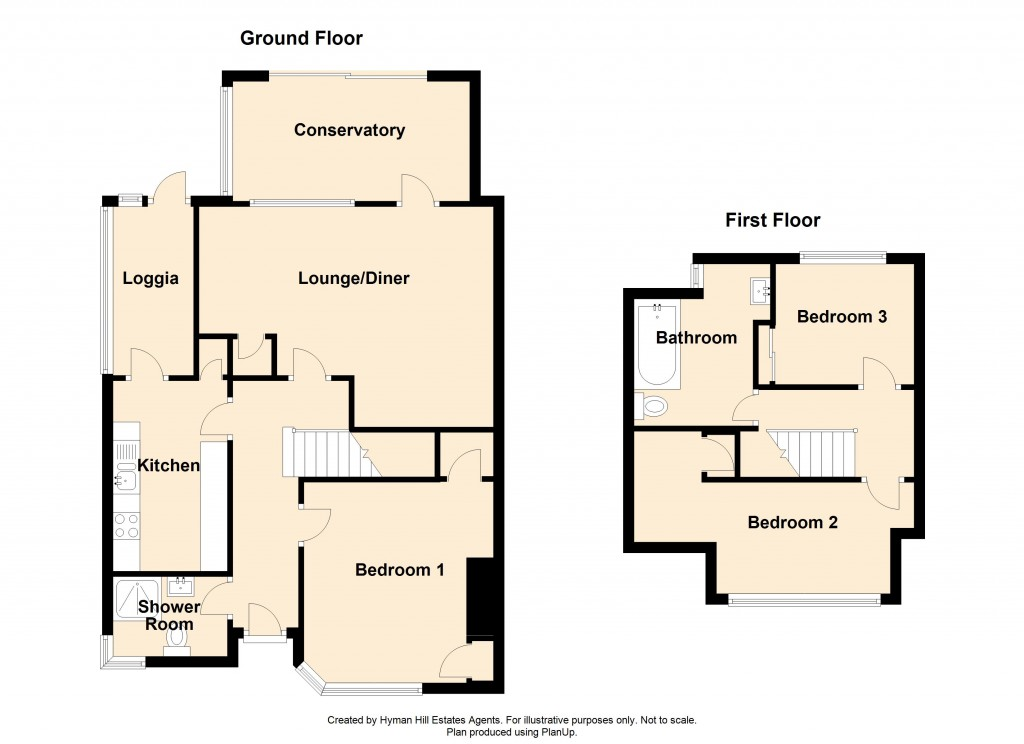 Floorplans For Adur Road, Shoreham-by-Sea