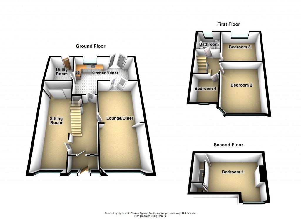 Floorplans For Windlesham Road, Shoreham-by-Sea