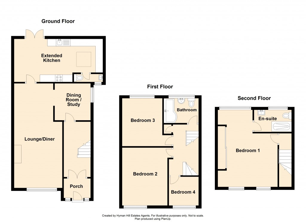 Floorplans For Chiltern Close, Shoreham-by-Sea
