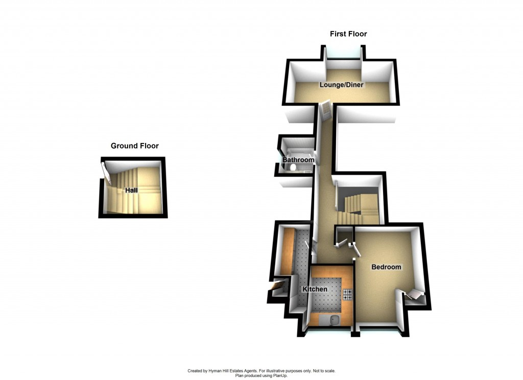 Floorplans For Brighton Road, Lancing, West Sussex