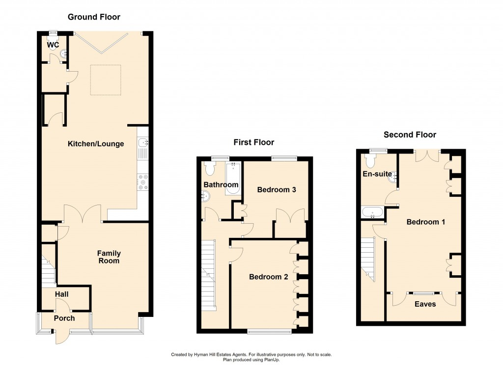 Floorplans For Cross Road, Southwick