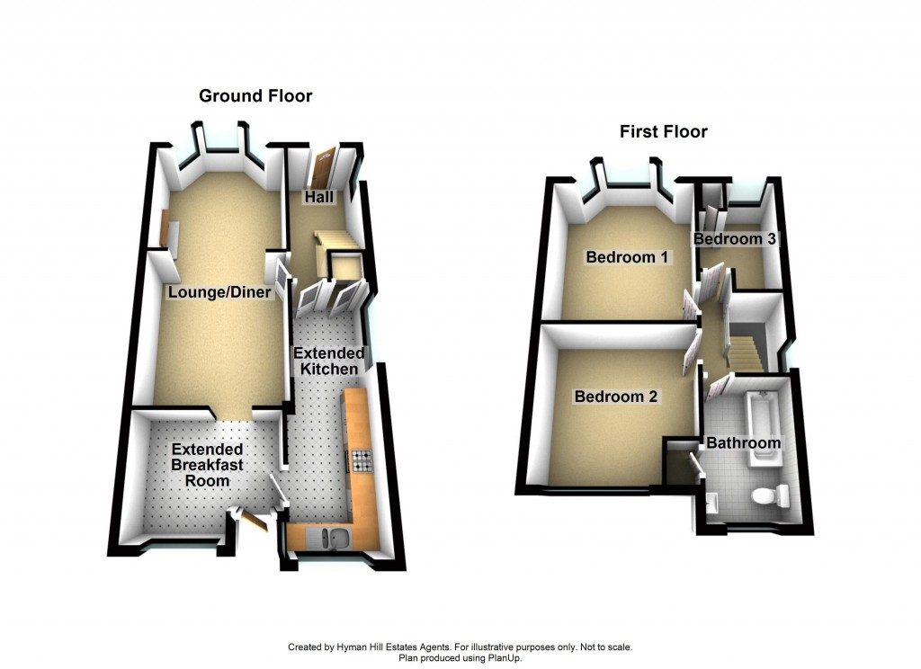 Floorplans For Southdown Road, Portslade